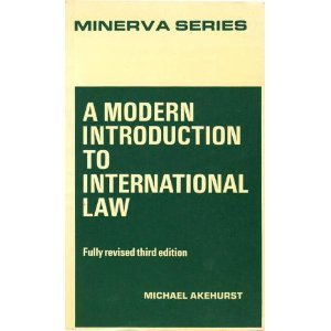 9780043410141: Modern Introduction to International Law (Minerva)