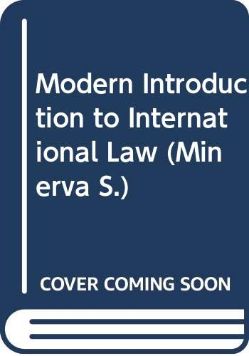 9780043410264: Modern Introduction to International Law (Minerva)