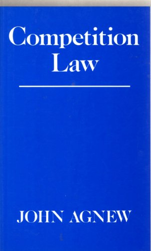 Competition law.: Agnew, John Hardman.