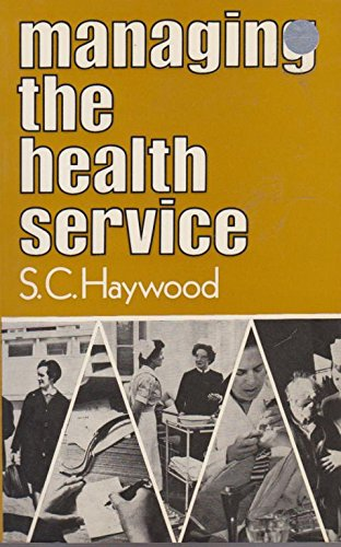 9780043500477: Managing the Health Service