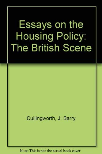 9780043500552: Essays on the Housing Policy: The British Scene