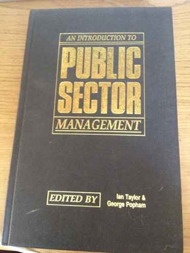 9780043500767: Introduction to Public Sector Management