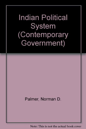 9780043510124: Indian Political System (Contemporary Government)