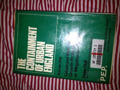 9780043520406: Containment of Urban England (PEPS)