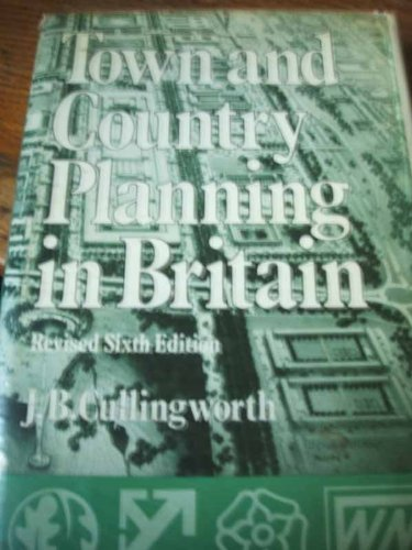 9780043520604: Town and Country Planning in Britain (The New local government series ; no. 8)