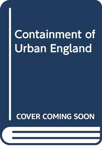 9780043520666: Containment of Urban England