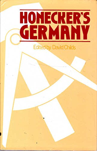 9780043540312: Honecker's Germany