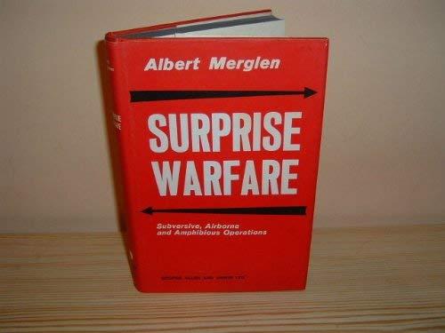 9780043550052: Surprise Warfare: Subversive, Airborne and Amphibious Operations