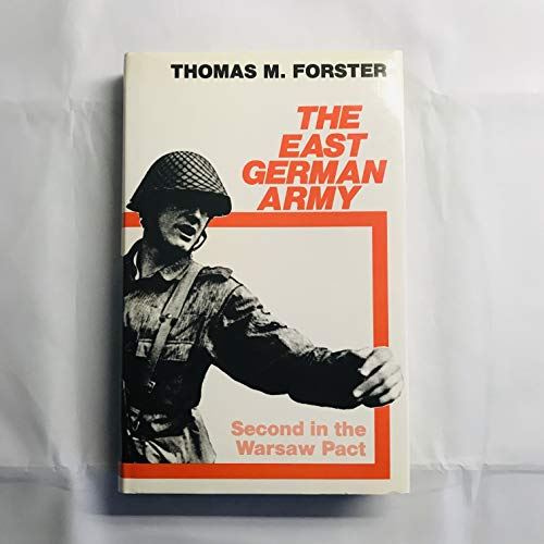 9780043550120: East German Army: The Second Power in the Warsaw Pact