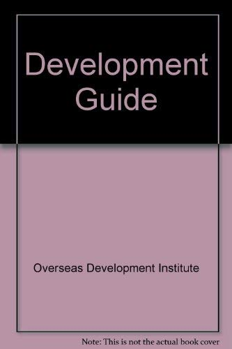 Development Guide: A Directory of Non-Commercial Organisations in Britain Actively Concerned in ...