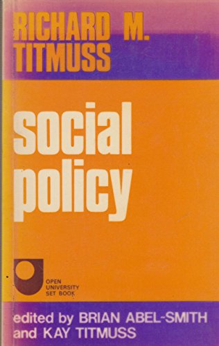 9780043610183: Social Policy: An Introduction