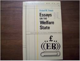 9780043610237: Essays on the Welfare State