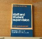 9780043610343: Staff and Student Supervision: A Task Centred Approach (National Institute of Social Services Library)