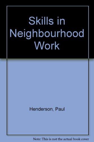 9780043610695: Skills in Neighbourhood Work