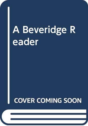 9780043610718: A Beveridge Reader