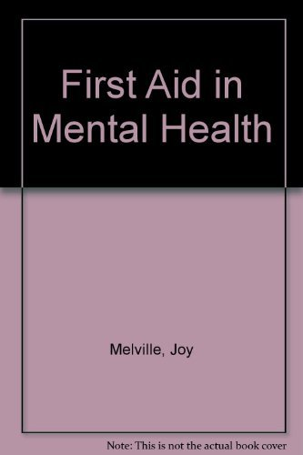9780043620335: First Aid in Mental Health