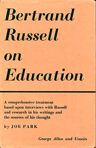 9780043700105: Bertrand Russell on Education