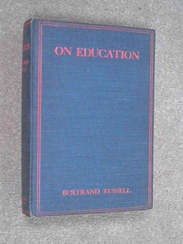 9780043700143: On Education
