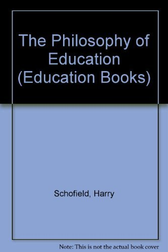 9780043700402: The Philosophy of Education (Education Books)