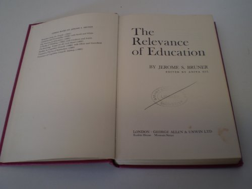 9780043700433: Relevance of Education