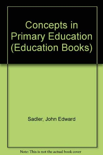 9780043700556: Concepts in Primary Education (Education Books)