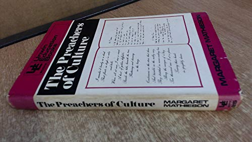 9780043700679: Preachers of Culture: Study of English and Its Teachers (Education Books)