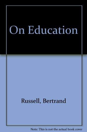 9780043700754: On Education
