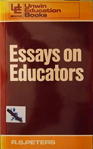 9780043701034: Essays on Educators (Education Books)