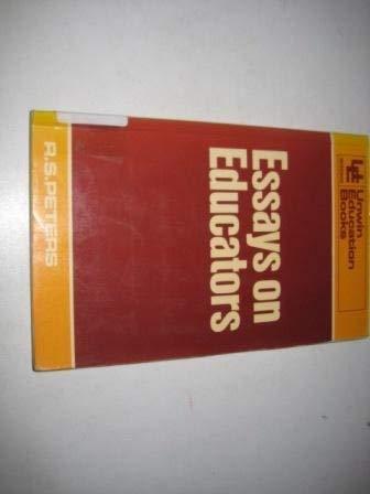 9780043701041: Essays on Educators (Education Books)