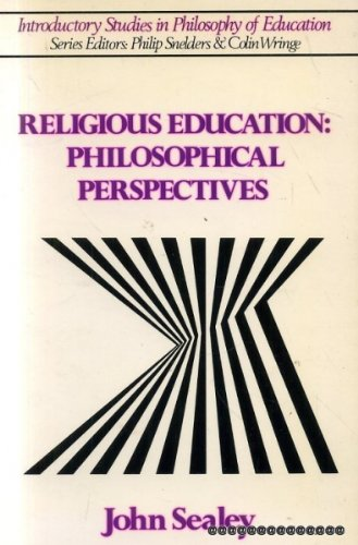 9780043701317: Religious Education: Philosophical Perspectives (Introductory Studies in the Philosophy of Education)