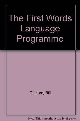 9780043710609: The First Words Language Programme