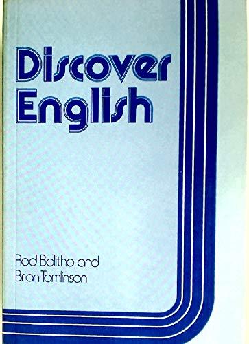 9780043710760: Discover English: A Language Awareness Workbook