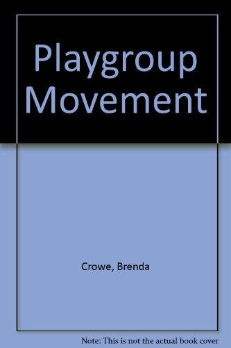 9780043720035: Playgroup Movement