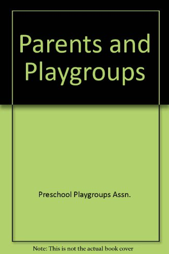9780043720301: Parents and Playgroups