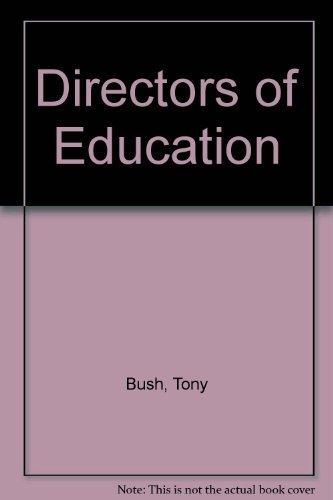9780043790014: Directors of Education