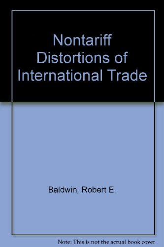 9780043820124: Nontariff Distortions of International Trade