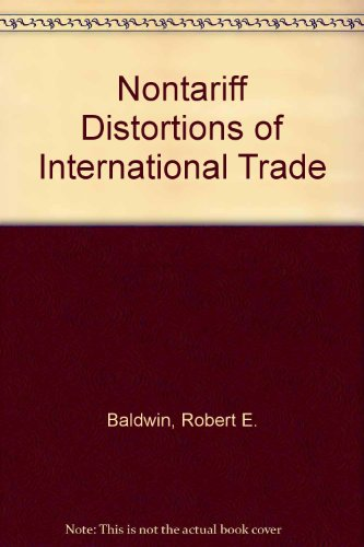 9780043820131: Nontariff Distortions of International Trade