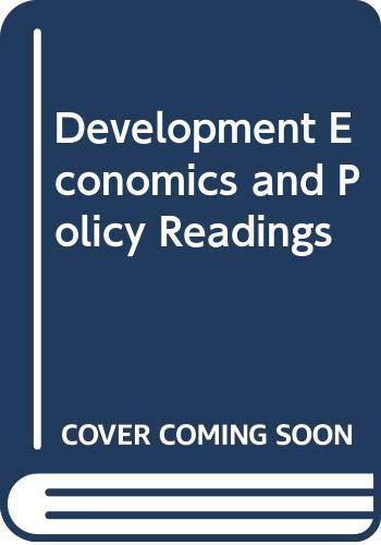 9780043820254: Development Economics and Policy Readings