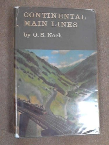 9780043850299: Continental Main Lines