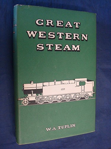 Great Western Steam: Tuplin, W.A.