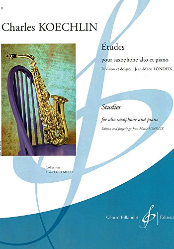 9780043911471: Etudes Op.188 for alto saxophone & piano