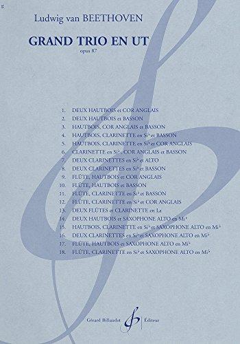 9780043931585: Grand Trio en Ut Opus 87 - Materiel Complet