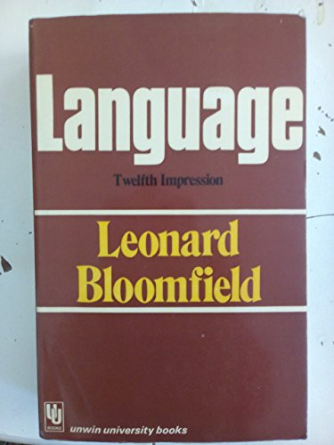 9780044000167: Language (Unwin University Books)