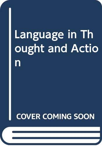 9780044000242: Language in Thought and Action