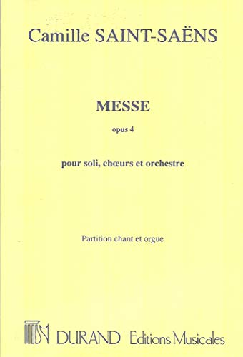 9780044023999: Messe Op 4 Chant-Orgue