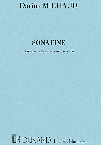 9780044049166: Sonatine Clarinette