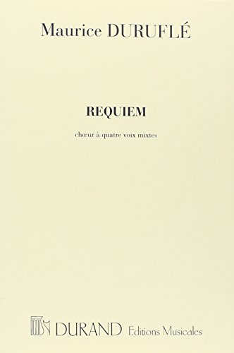 9780044061267: Requiem Choeurs a Quatre Voix (S.A.T.B.) - Choeur Classical Sheets Choral and Vocal Ensembles