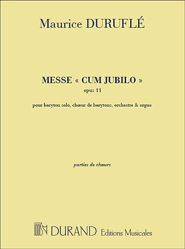 Messe Cum Jubilo Op. 11 -Ensemble de: Maurice Durufle