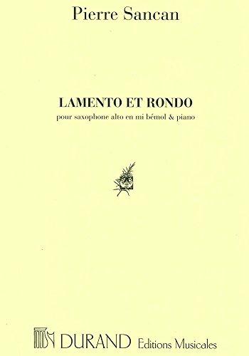 9780044067771: Lamento et Rondo