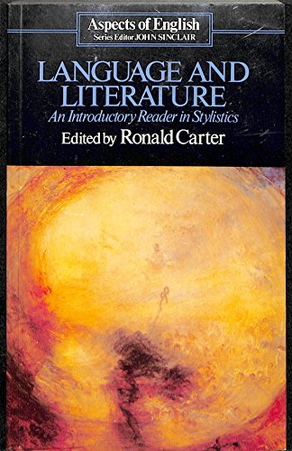 9780044070177: Language and Literature: An Introductory Reader in Stylistics (Aspects of English)